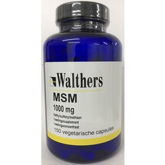 Walthers Methylsulfonylmethaan (MSM) 1000 mg (150 vcaps)