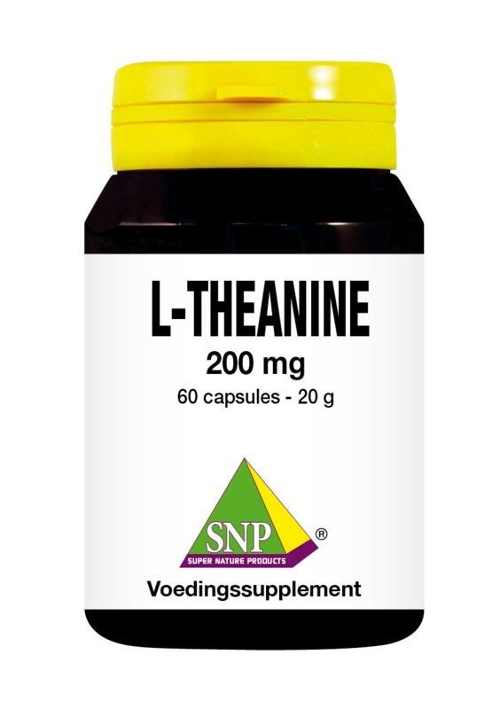 SNP SNP L-Theanine 200 mg (60 capsules)