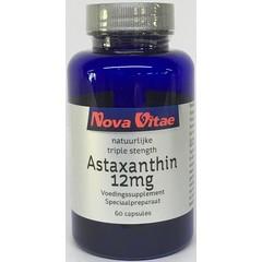 Nova Vitae Astaxanthine triple strength 12mg (60 capsules)