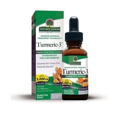 Natures Answer Turmeric-3 Curcuma extract 1:1 alcvrij 15.000 mg (30 ml)