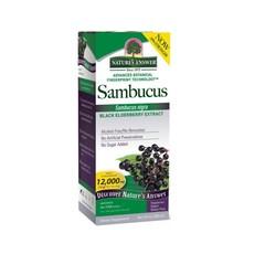Natures Answer Sambucus vlierbessen extract 12.000 mg suikervrij (120 ml)