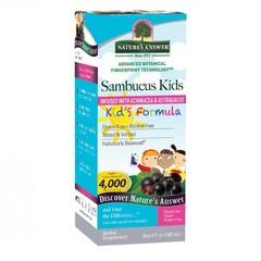 Natures Answer Sambucus kids vlierbessen extract 4000 mg (120 ml)