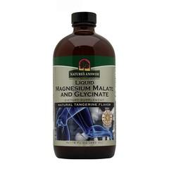 Natures Answer Vloeibaar magnesium malaat & bisglycinaat (480 ml)