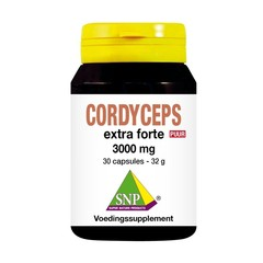 SNP Cordyceps extra forte 3000 mg puur (30 capsules)