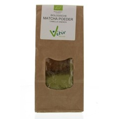Vitiv Matcha poeder biologisch (100 gram)