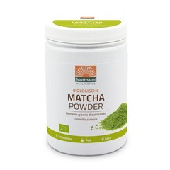 Mattisson Biologische matcha powder poeder green tea (300 gram)