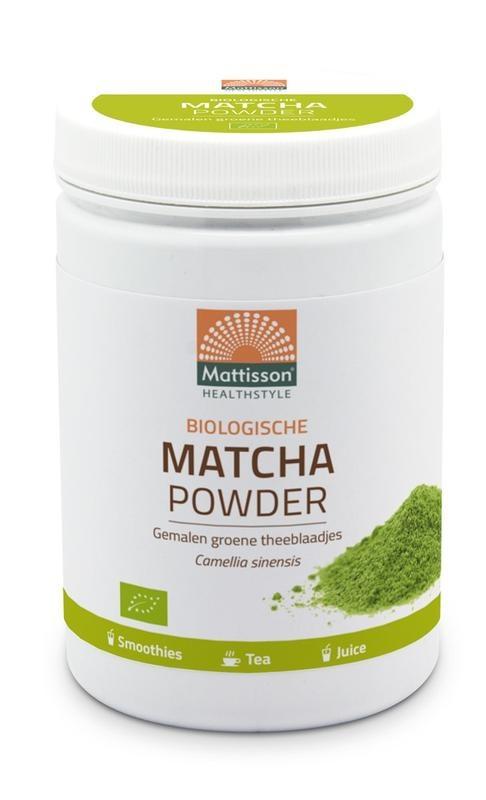 Mattisson Mattisson Biologische matcha powder poeder green tea (300 gram)