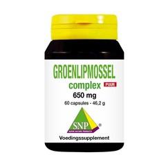 SNP Groenlipmossel complex puur (60 capsules)