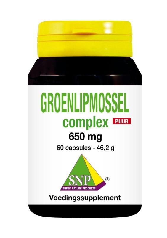 SNP SNP Groenlipmossel complex puur (60 capsules)