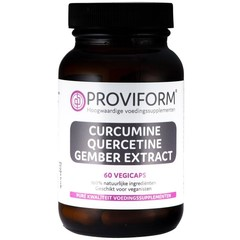 Proviform Curcumine quercetine gember extract (60 vcaps)