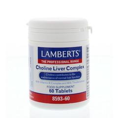 Lamberts Choline lever complex (60 tabletten)