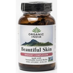 Organic India Beautiful skin caps (90 capsules)