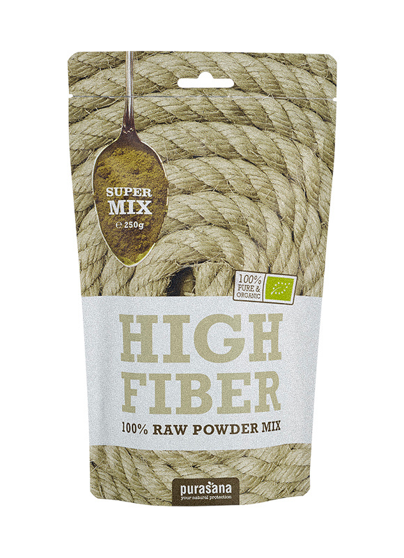 Purasana High fiber mix (250 gram)