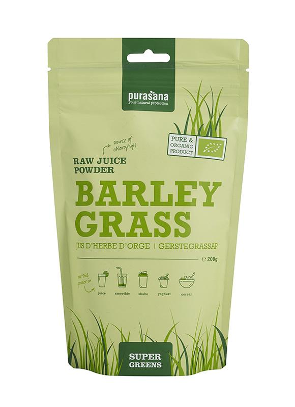 Purasana Barley grass raw juice powder (200 gram)