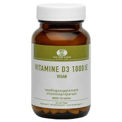 Pigge Vitamine D 1000IE vegan (100 tabletten)