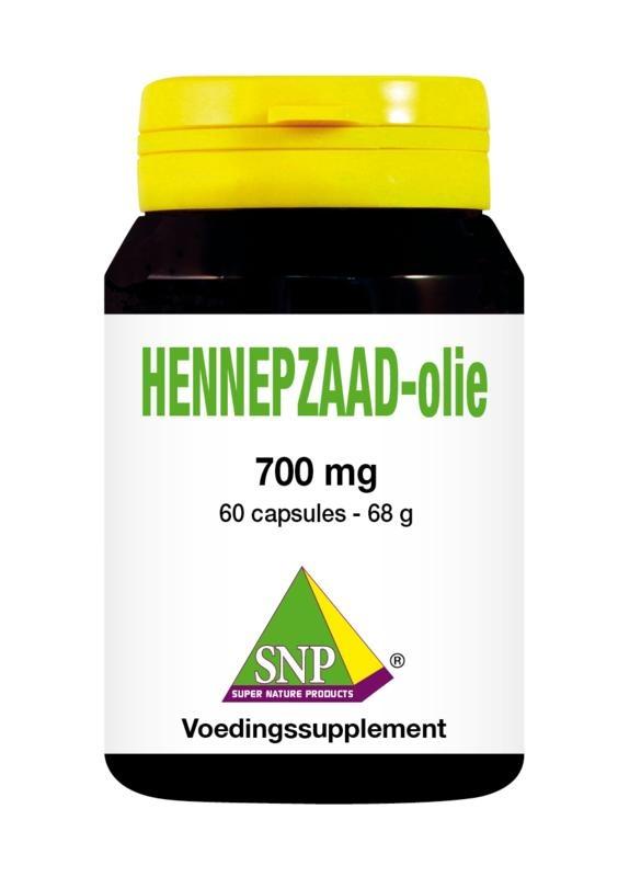 SNP SNP Hennepzaad olie (60 capsules)