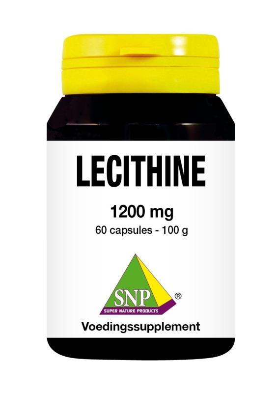 SNP SNP Lecithine 1200 mg (60 capsules)