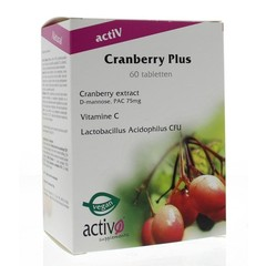 Activo Cranberry plus (60 tabletten)