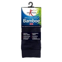 Lucovitaal Bamboe sok lang blauw 39-42 (1 paar)