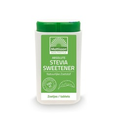 Mattisson Stevia sweetener zoetjes/tablets (100 tabletten)