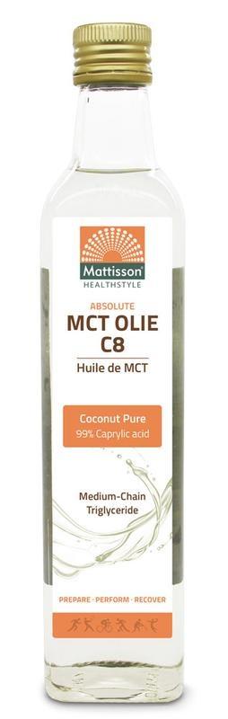 Mattisson Mattisson MCT olie C8 - coconut pure - 99% caprylic acid ()