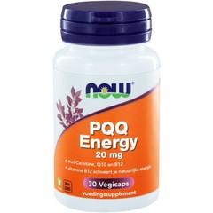NOW PQQ Energy 20 mg (30 vcaps)