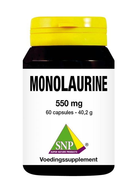 SNP SNP Monolaurine 550 mg (60 capsules)