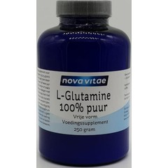 Nova Vitae L-Glutamine 100% puur (250 gram)