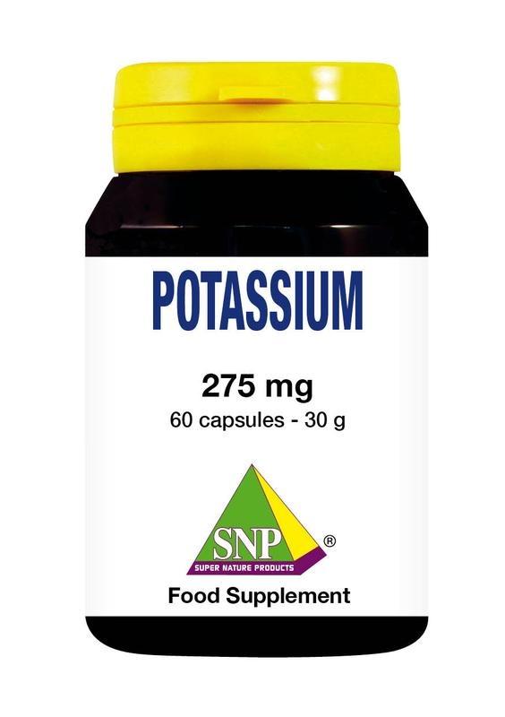 SNP SNP Potassium citraat 275 mg (60 capsules)