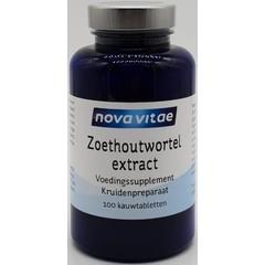 Nova Vitae Zoethoutwortel extract DGL (100 tablettten)