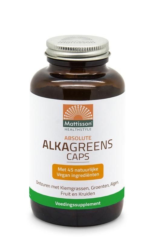 Mattisson Mattisson Absolute Alkagreens capsules 540 mg (180 vcaps)