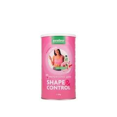 Purasana Shape & control protein shake aardbei/framboos (350 gram)