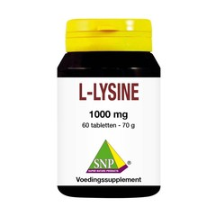 SNP L-lysine 1000 mg (60 tabletten)