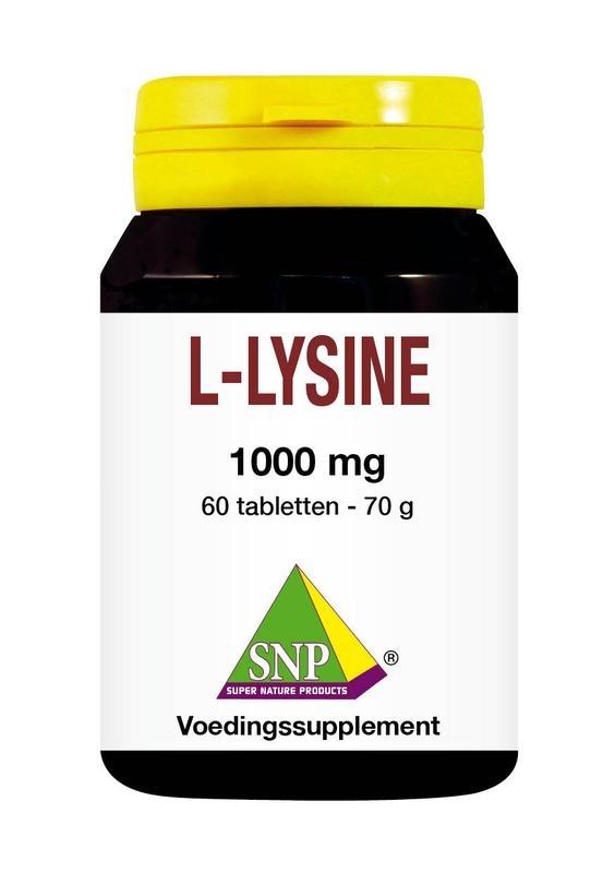 SNP SNP L-lysine 1000 mg (60 tabletten)