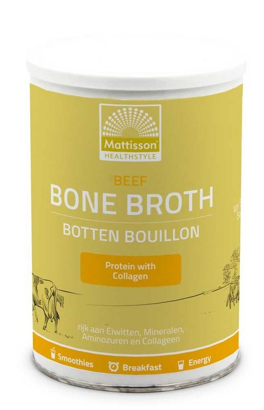 Mattisson Mattisson Beef bone broth botten bouillon (250 gram)