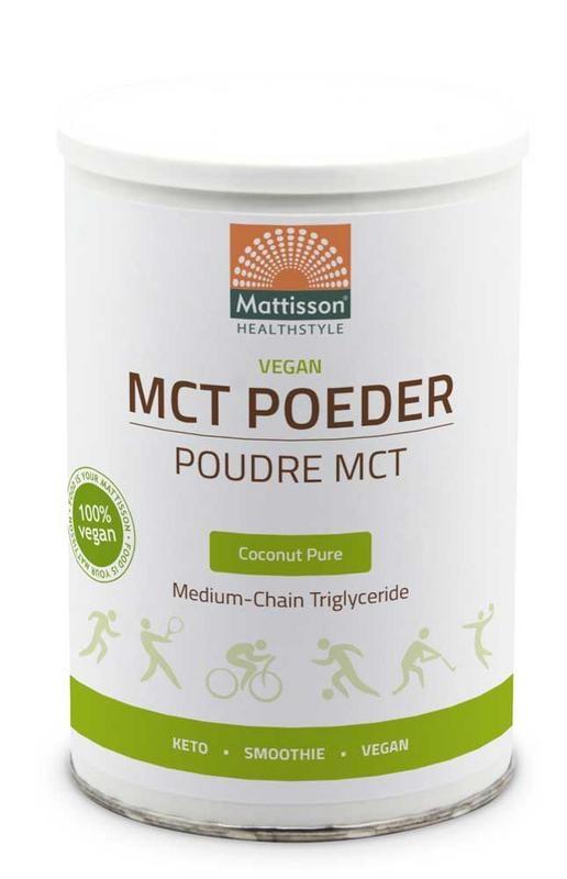 Mattisson Mattisson Vegan MCT poeder coconut pure (330 gram)