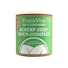 Plantavital Scherp Zien ogen complex - 100% plantaardig (30 vcaps)
