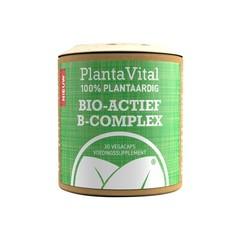 Plantavital Bio actief B-complex - 100% plantaardig (30 vcaps)