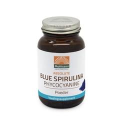 Mattisson Blauwe blue spirulina fytoblue phycocyanine (15 gram)