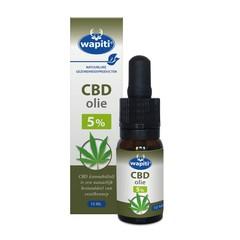 Wapiti CBD Olie 5% (10 ml)