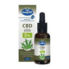 Wapiti CBD Olie 5% (30 ml)