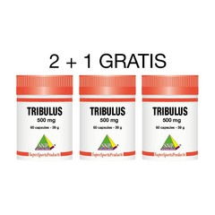SNP Tribulus 500 mg 2+1 gratis (180 capsules)
