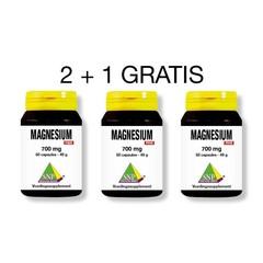 SNP Magnesium 700 mg puur 2 + 1 gratis (180 capsules)