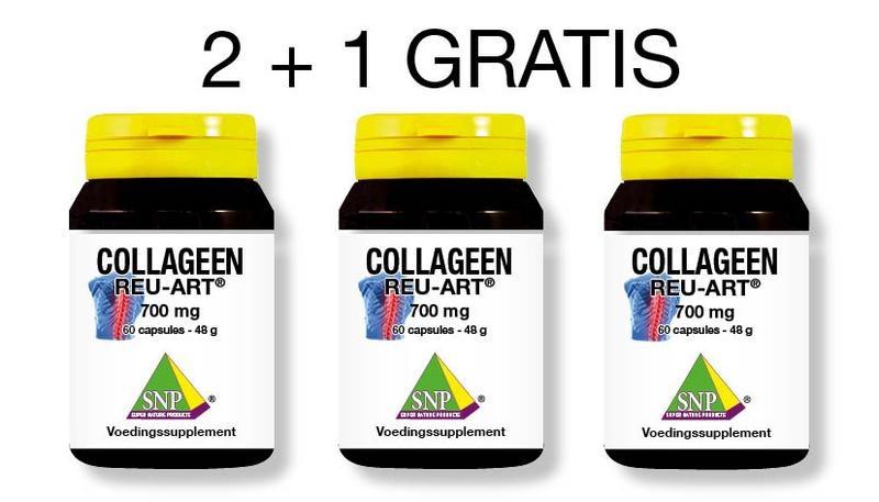 SNP SNP Collageen reu art 2+1 gratis (180 capsules)