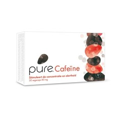 Pure cafeine 80 mg (30 vcaps)