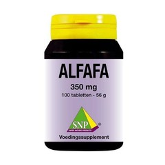 SNP Alfalfa 350 mg (100 tabletten)