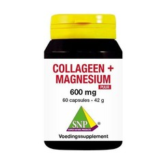 SNP Collageen magnesium 600 mg puur (60 capsules)