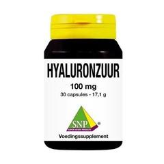 SNP Hyaluronzuur 100 mg (30 capsules)