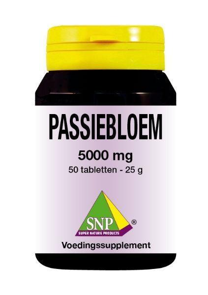 SNP Passiebloem 5000 mg (50 tabletten)