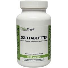Phytotreat Zouttabletten 1000 mg NACL (100 tabletten)